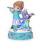 Precious Moments® Care Bear Girl with Harmony Bear LED Musical Figurine