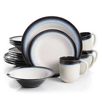 Gibson Overseas Chroma 16-Piece Dinnerware Set