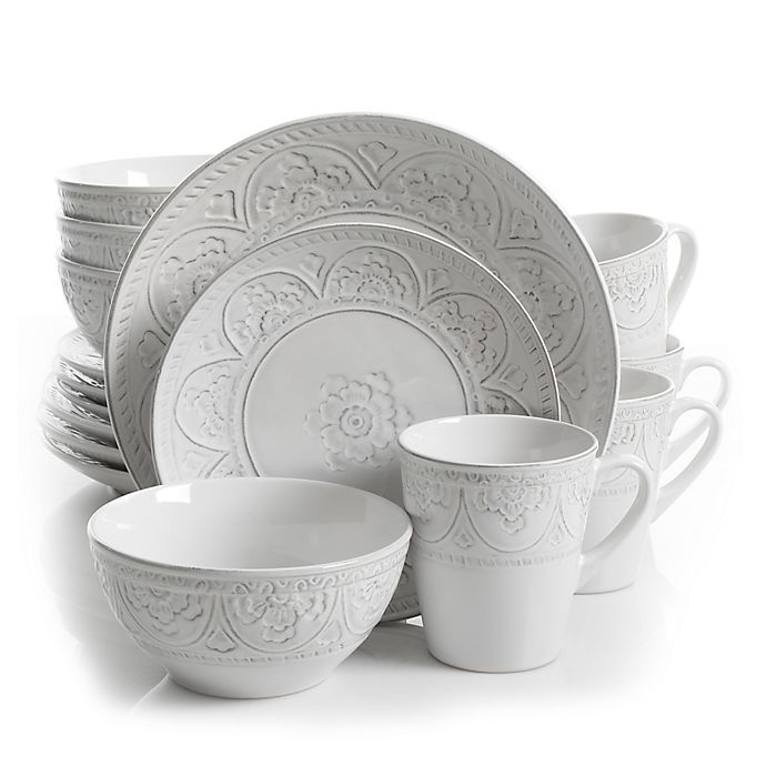 Gibson Overseas Juneau 16 Piece Dinnerware Set Bed Bath Beyond