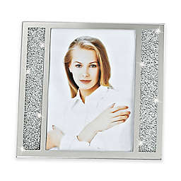 Badash Lucerne Crystalized 5-Inch x 7-Inch Double-Sided Picture Frame