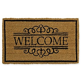 Mohawk Home® Welcome Scroll 18-Inch x 30-Inch Door Mat