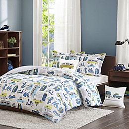 INK+IVY Kids Road Trip Duvet Cover Set
