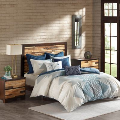 cal king duvet cover INK+IVY Nova Duvet Cover Set in Blue | Bed Bath & Beyond cal king duvet cover