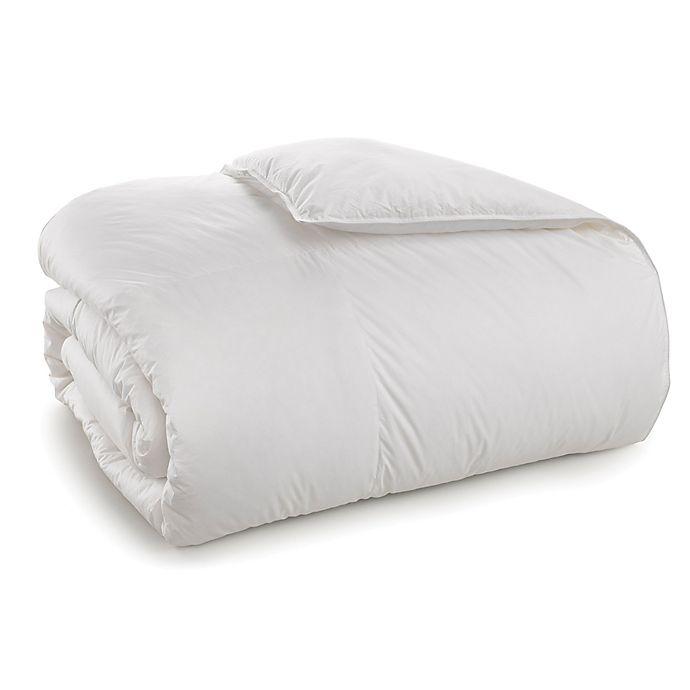 Alternate image 1 for Sharper Image® Duck Comforter in White