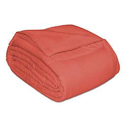 Microfiber Down Alternative King Comforter in Brick