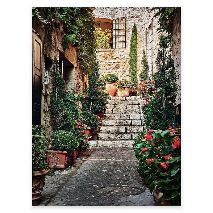 Private Entry Outdoor All Weather Canvas Wall Art Bed
