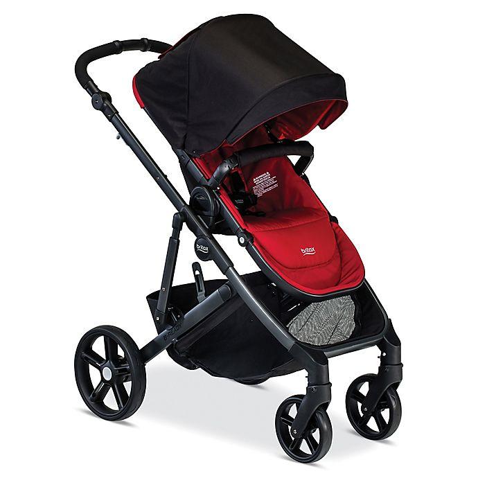 Alternate image 1 for BRITAX B-Ready® Stroller in Poppy