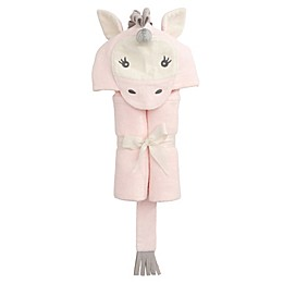 Elegant Baby® Unicorn Bath Wrap Towel in Pink