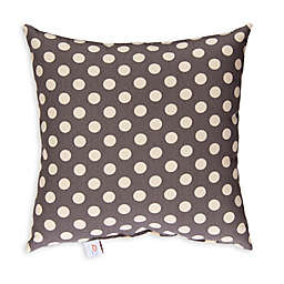 Glenna Jean North Country Polka Dot Print Throw Pillow