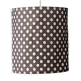 Glenna Jean North Country Polka Dot Print Hanging Drum Shade Kit
