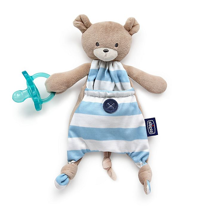 Alternate image 1 for Chicco® Pocket Buddies in Blue Bear