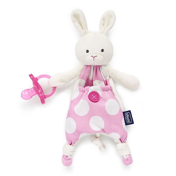 Alternate image 1 for Chicco® Pocket Buddies in Pink Bunny
