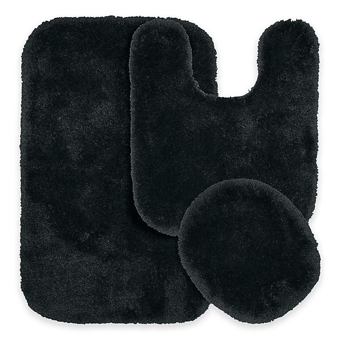 Find Many Great New Used Options And Get The Best Deals For Mary 3 Piece Bathroom Rug Set Luxury Soft Plush Gy Thick Fluffy Microfiber At