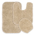 Serendipity 3-Piece Nylon Bath Rug Set in Linen