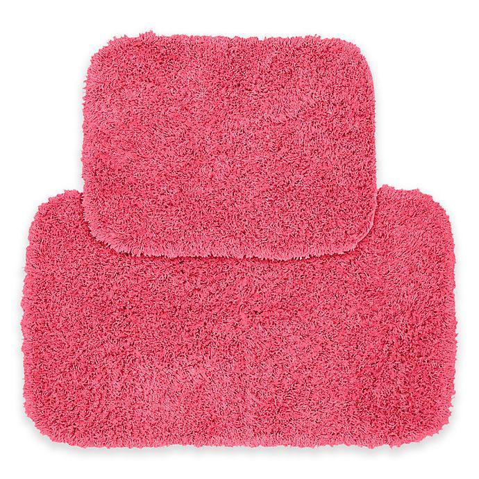 Alternate image 1 for Jazz 2-Piece Bath Rug Set in Pink