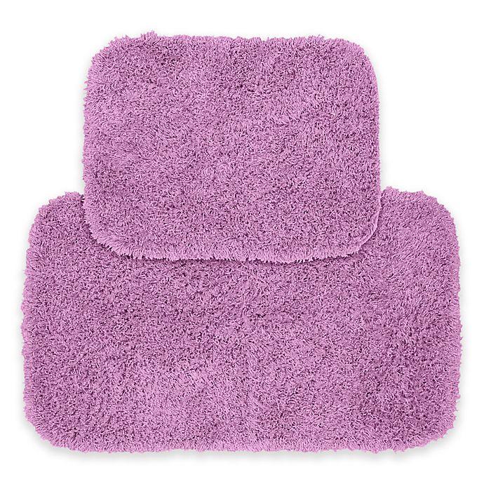 Alternate image 1 for Garland Jazz Bath Rug Set in Purple (Set of 2)