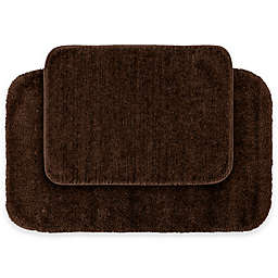 Traditional Plush 2-Piece Bath Rug Set