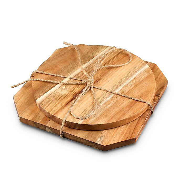 Alternate image 1 for Thirstystone® Acacia Wood Trivet (Set of 2)