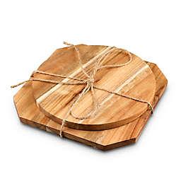 Thirstystone® Acacia Wood Trivet (Set of 2)