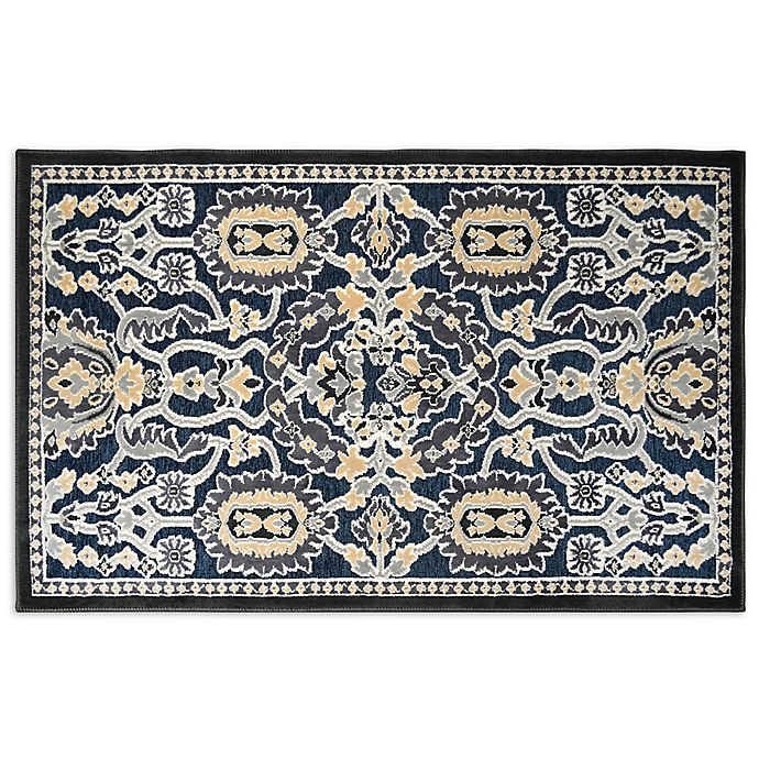 Alternate image 1 for Home Dynamix Maplewood 2-Foot 3-Inch x 3-Foot 7-Inch Accent Rug in Navy