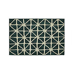 Mohawk Home® Signature Bamboo View 20-Inch x 34-Inch Accent Rug in Sapphire/Cream