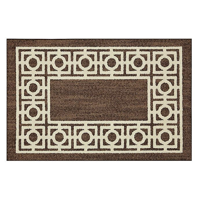 Alternate image 1 for Mohawk Home®  Signature Davidson 30-Inch x 46-Inch Accent Rug in Brown