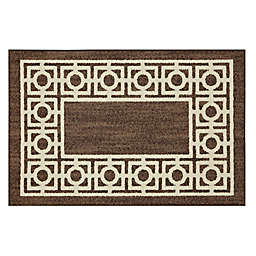Mohawk Home® Signature Davidson 30-Inch x 46-Inch Washable Accent Rug in Brown