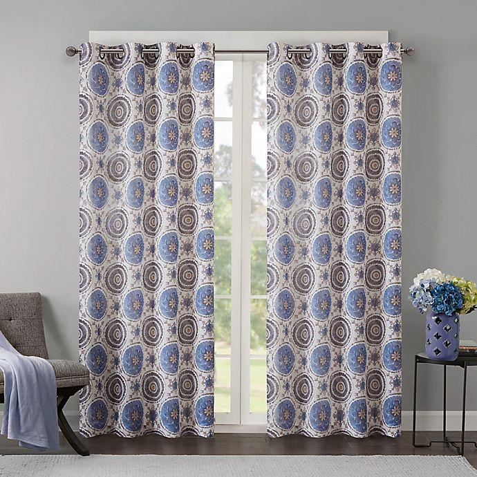 Alternate image 1 for Regency Heights Opus Grommet Top Window Curtain Panel