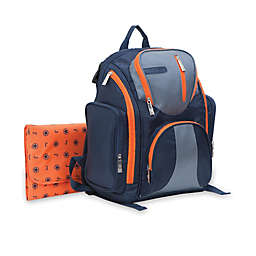 J is for Jeep® Perfect Pockets Backpack Diaper Bag in Navy