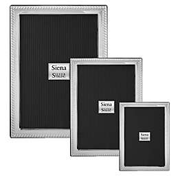Siena Rope Sterling Silver Picture Frame