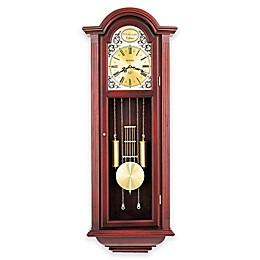 Bulova Tatianna Pendulum Wall Clock in Mahogany