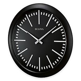 Bulova Sound Around Bluetooth® Wall Clock in Matte Black