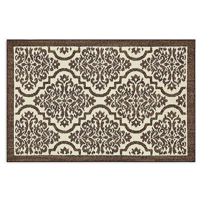 Alternate image 1 for Mohawk Signature Palace 2-Foot 6-Inch x 3-Foot 10-Inch Area Rug in Brown