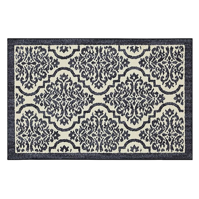 Alternate image 1 for Mohawk Signature Palace 2-Foot 6-Inch x 3-Foot 10-Inch Area Rug in Indigo