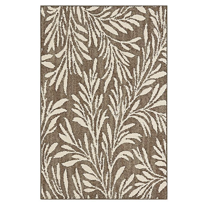 Alternate image 1 for Mohawk Signature Willow 1-Foot 8-Inch x 3-Foot 10-Inch Accent Rug in Khaki