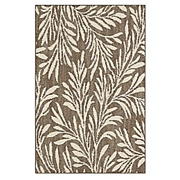 Mohawk Signature Willow 2-Foot 6-Inch x 3-Foot 10-Inch Accent Rug in Khaki