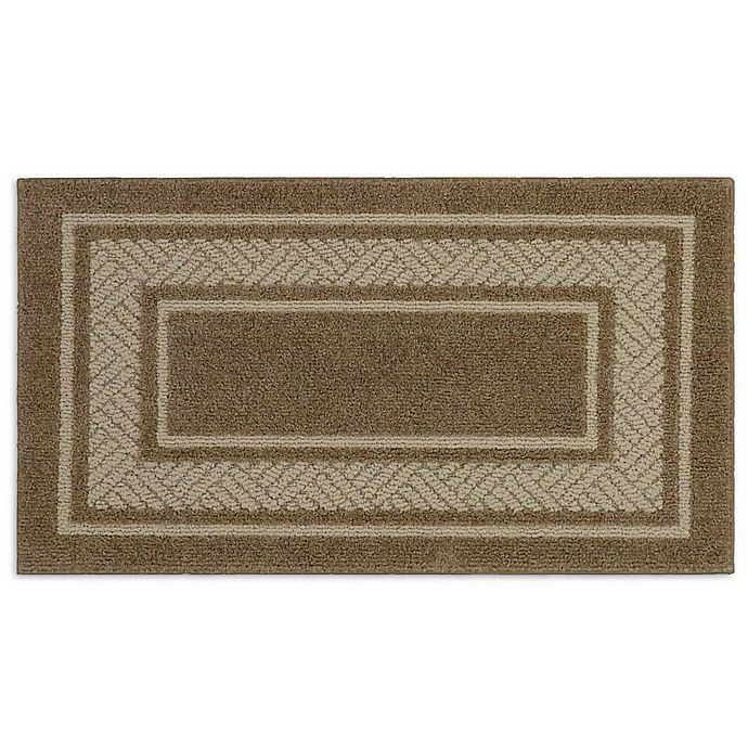 Alternate image 1 for Walker Border 1-Foot 8-Inch x 2-Foot 10-Inch Accent Rug in Toast
