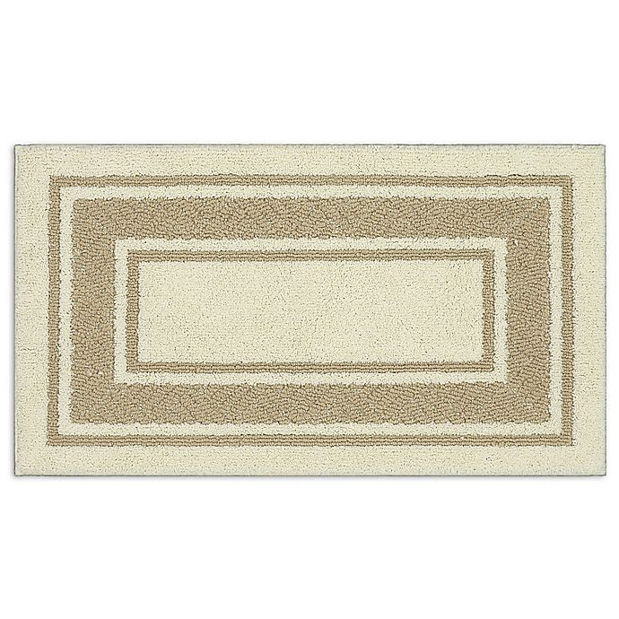 Alternate image 1 for Walker Border 1-Foot 8-Inch x 2-Foot 10-Inch Accent Rug in Cream