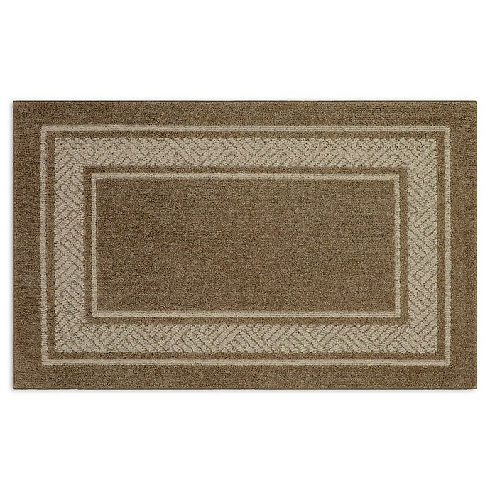Alternate image 1 for Walker Border 2-Foot 6-Inch x 3-Foot 10-Inch Area Rug in Toast