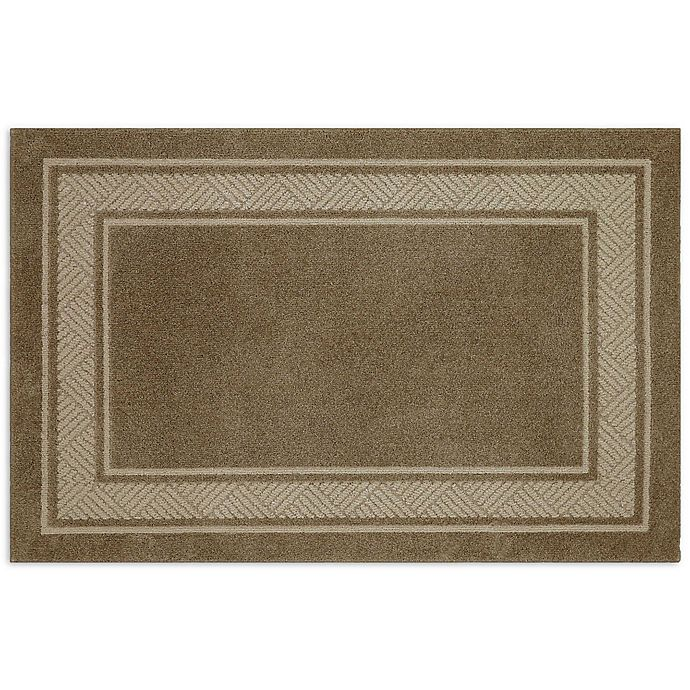 Alternate image 1 for Walker Border 3-Foot 4-Inch x 5-Foot Area Rug in Toast