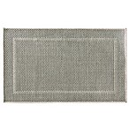 Bacova Woven Natural Framed Ridges 28-Inch x 46-Inch Accent Rug in Grey