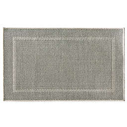 Bacova Woven Natural Framed Ridges Accent Rug