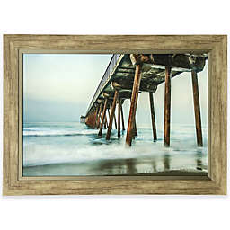 Pier In Ocean Mist Print Wall Art