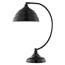 Stein World Alton Table Lamp in Bronze with Metal Shade