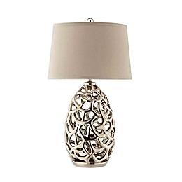 Stein World Ripley Lamp in Silver
