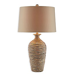Palladio Resin Table Lamp in Gold