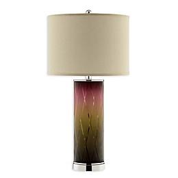 Stein World Malyne Argyle Glass Lamp in Purple/Green