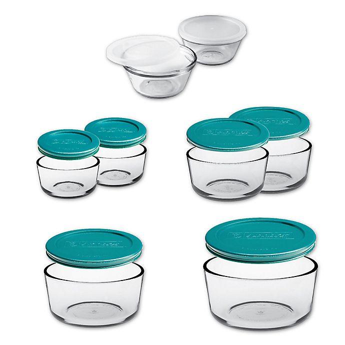 Alternate image 1 for Anchor Hocking 16-Piece Basic Food Storage Set