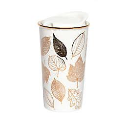 Manna™ Ceramic Flowers Car Cup