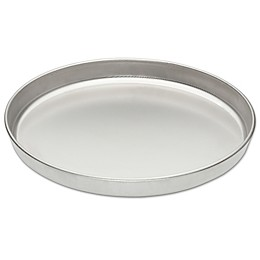 Fante's Cousin Serafina's Micro-Textured 13-Inch Pizza Pan in Stainless Steel